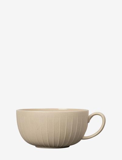 Tea cup Fleur - tekopper - beige