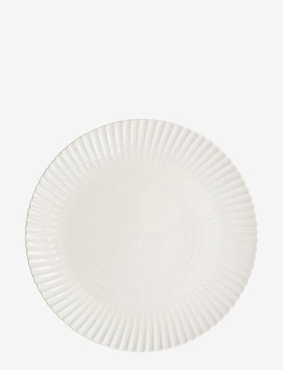 Plate Frances - asjetter - white