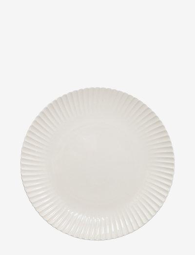 Small plate Frances - asjetter - white