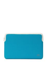 "ZIP SLEEVE MACBOOK AIR 11"" - AQUA w/ STONE"