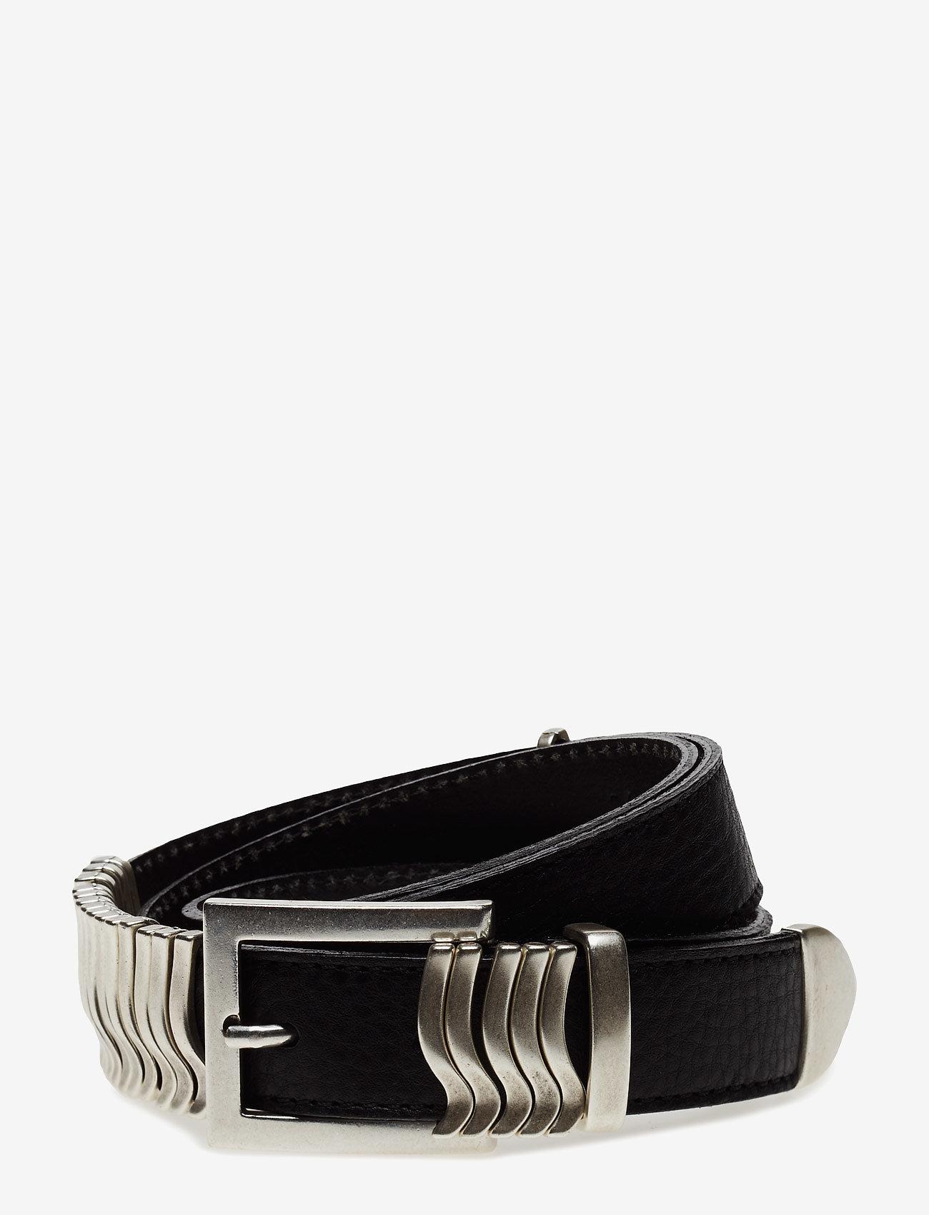 Cala Jade - Rattle Belt - riemen - black silver - 0
