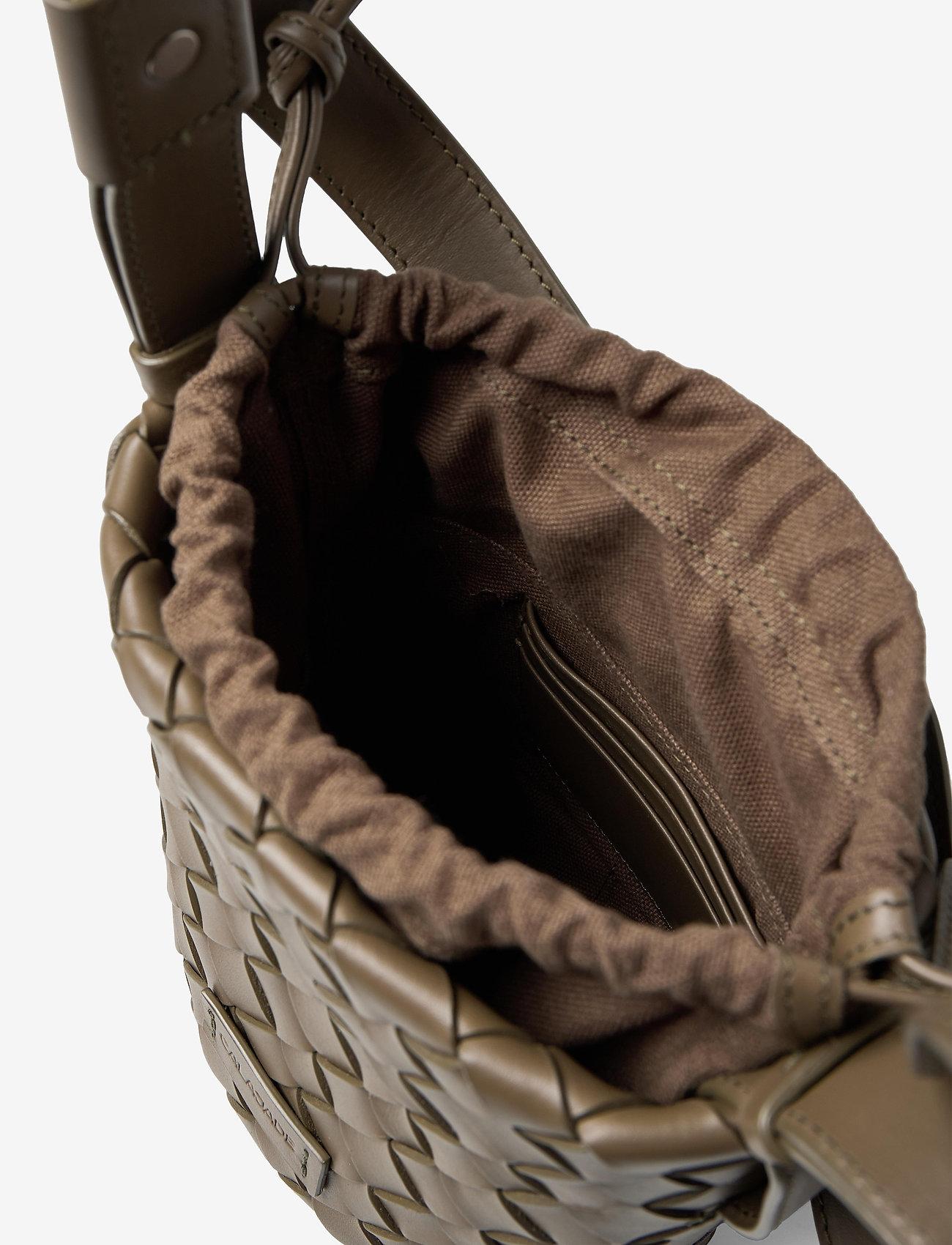 Cala Jade - Usim Mini - bucketväskor - kombu green - 3