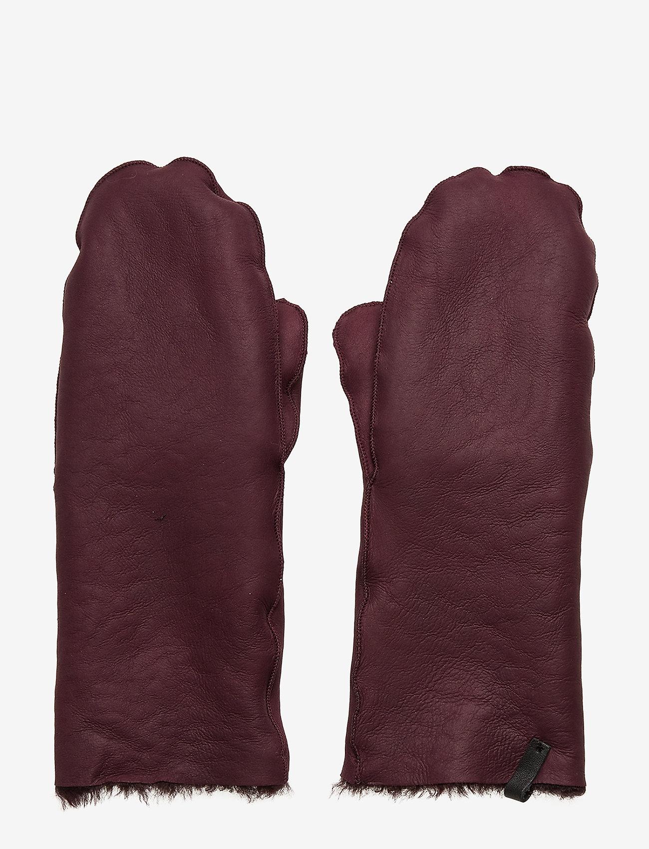 Cala Jade - Mila Cuff - rękawiczki - port wine - 0