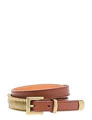 Mini Rattle Belt - NUT MEG GOLD