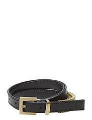 Mini Rattle Belt - BLACK GOLD
