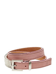 Mini Rattle Belt - CADILLAC PINK SILVER