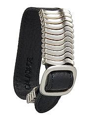 Rattle Bracelet - BLACK SILVER