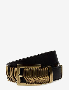 Rattle Belt - gürtel - black gold