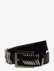 Rattle Belt - riemen - black gun metal