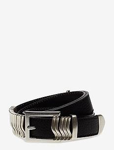 Rattle Belt - BLACK SILVER