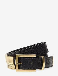 Rattle belt - BLACK PYRITT GOLD