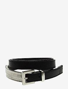 Mini Rattle Belt - riemen - black silver
