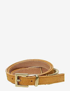 Mini Rattle Belt - OCRA SUEDE GOLD