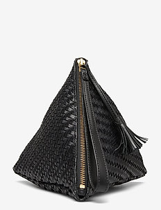Badu - clutches - black twill