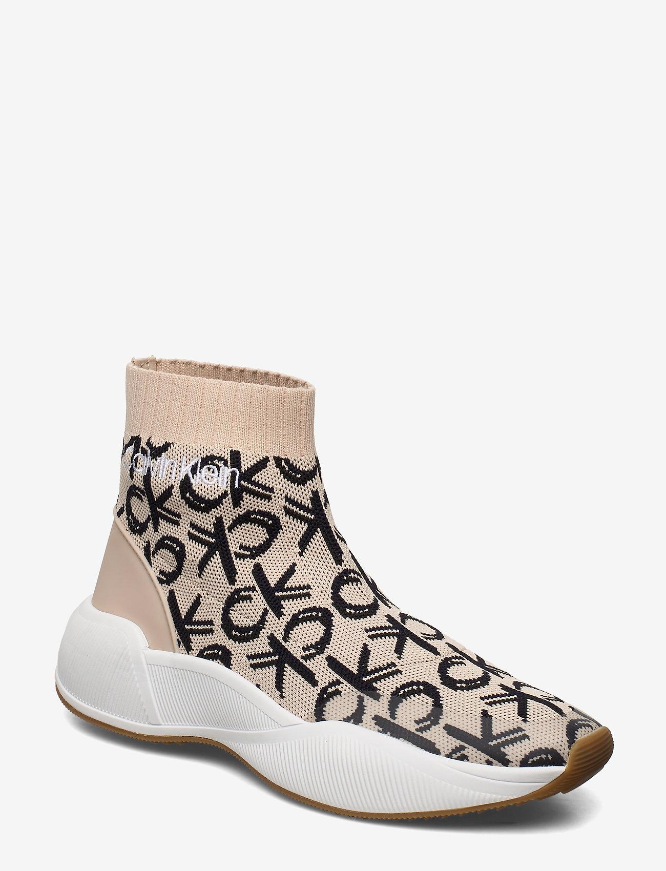 Calvin Klein Babele / - Sneakers Light Sand/navy