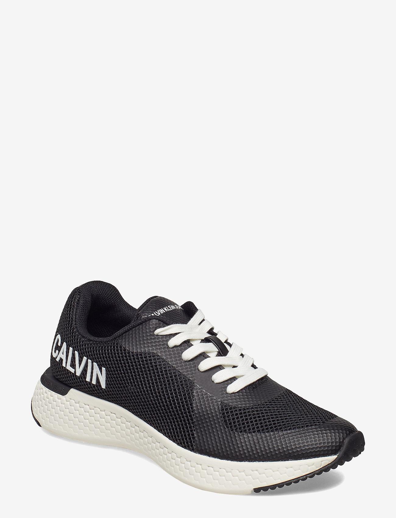 Calvin Klein - AMOS MESH/HF - laag sneakers - blk - 0