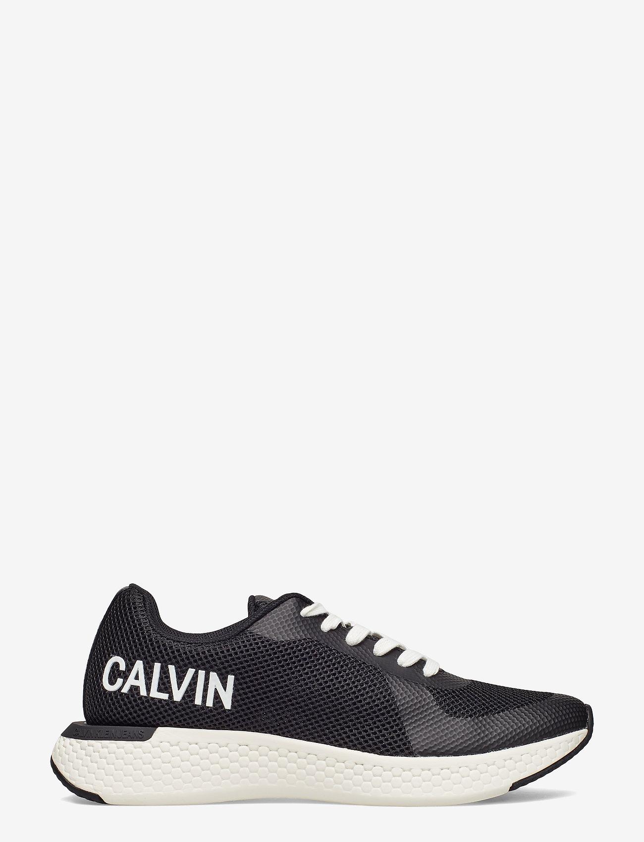 Calvin Klein - AMOS MESH/HF - laag sneakers - blk - 1