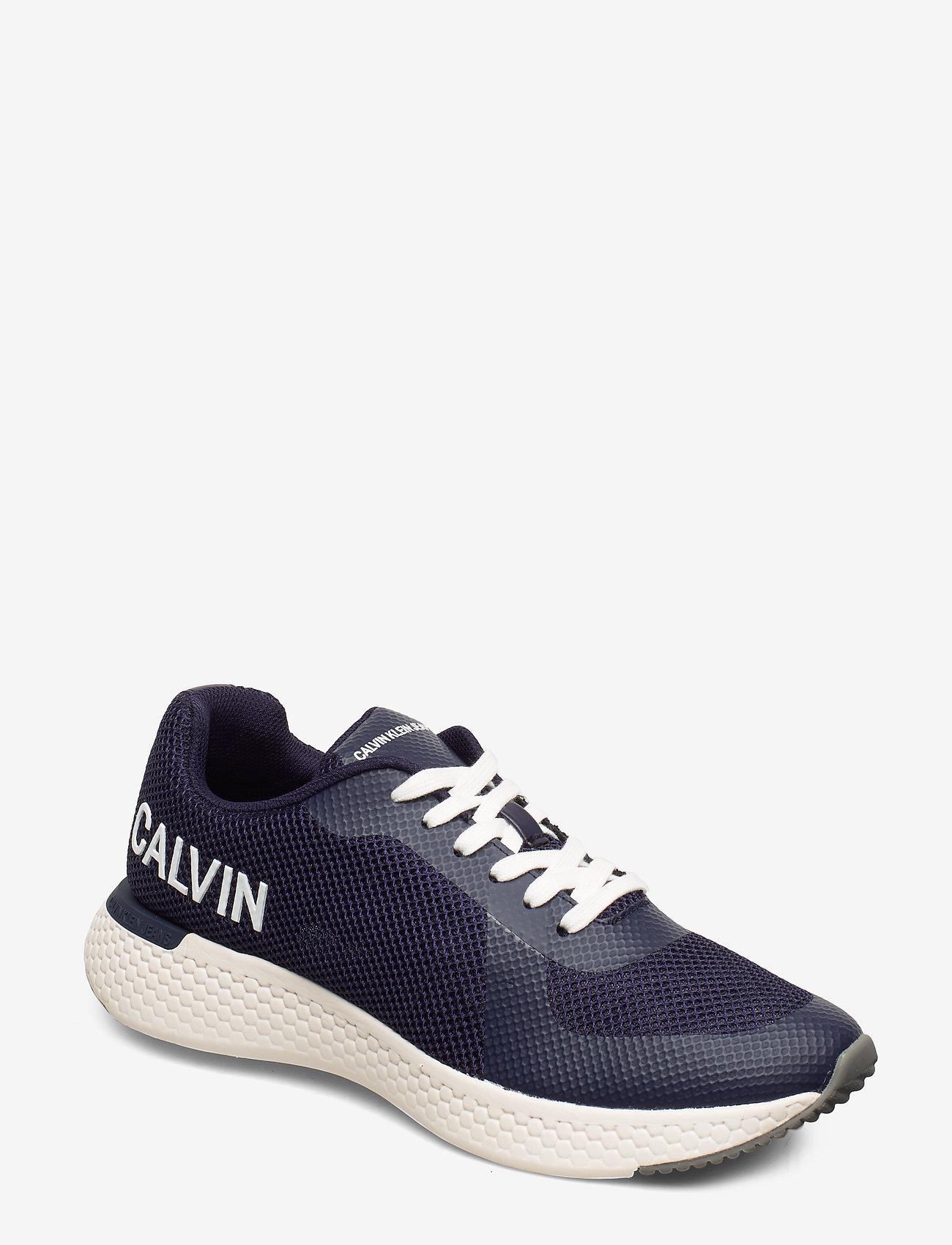 Calvin Klein - AMOS MESH/HF - laag sneakers - navy - 0