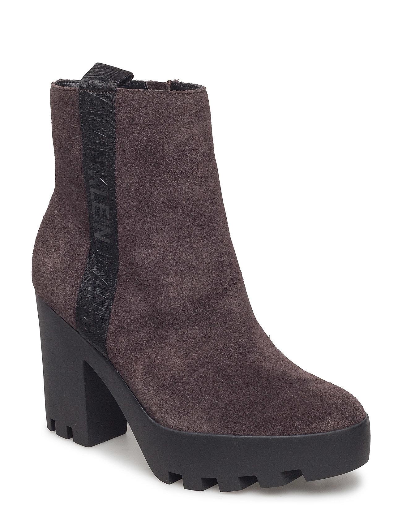 Calvin Klein Footwear SERINA SUEDE - BRN
