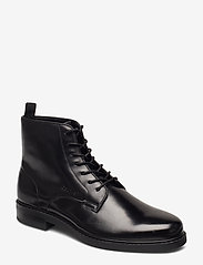 Calvin Klein - FORDEN - veter schoenen - black - 0