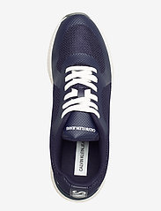 Calvin Klein - AMOS MESH/HF - laag sneakers - navy - 3