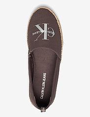 Calvin Klein - ESPADRILLE PRINTED CO - platta espadriller - dusty brown - 3