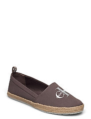 ESPADRILLE PRINTED CO - DUSTY BROWN