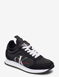 JONNETTE - lage sneakers - black