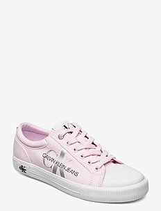 VULCANIZED SNEAKER LACEUP PES - pearly pink