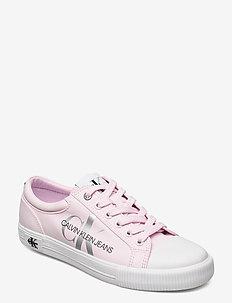 VULCANIZED SNEAKER LACEUP PES - niedrige sneakers - pearly pink