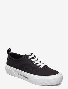 VULCANIZED SKATE OXFORD CO - niedrige sneakers - black