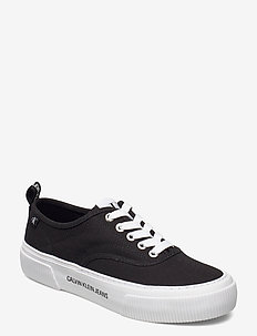 VULCANIZED SKATE OXFORD CO - låga sneakers - black