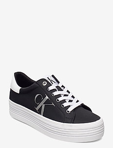 VULCANIZED FLATFORM LACEUP NY - sneakers - black
