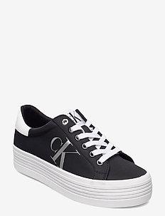 VULCANIZED FLATFORM LACEUP NY - sneaker - black