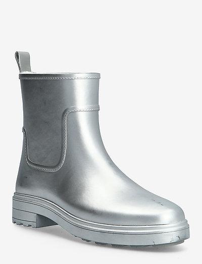 RAIN BOOT MTLC - kozaki i botki - silver