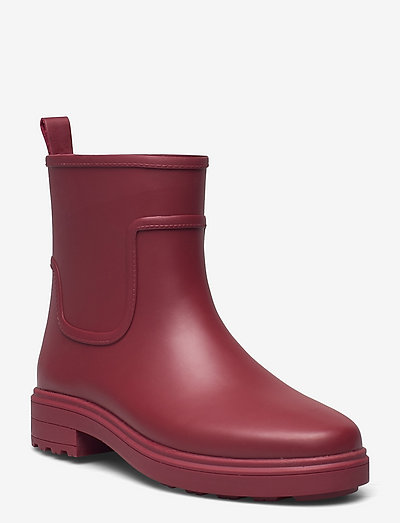 RAIN BOOT - kozaki i botki - red currant