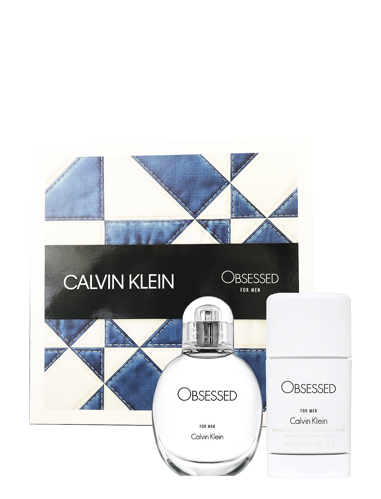 Calvin Klein Fragrance OBSESSED FOR MEN EDT 30ML/DEO STICK 75ML - NO COLOR