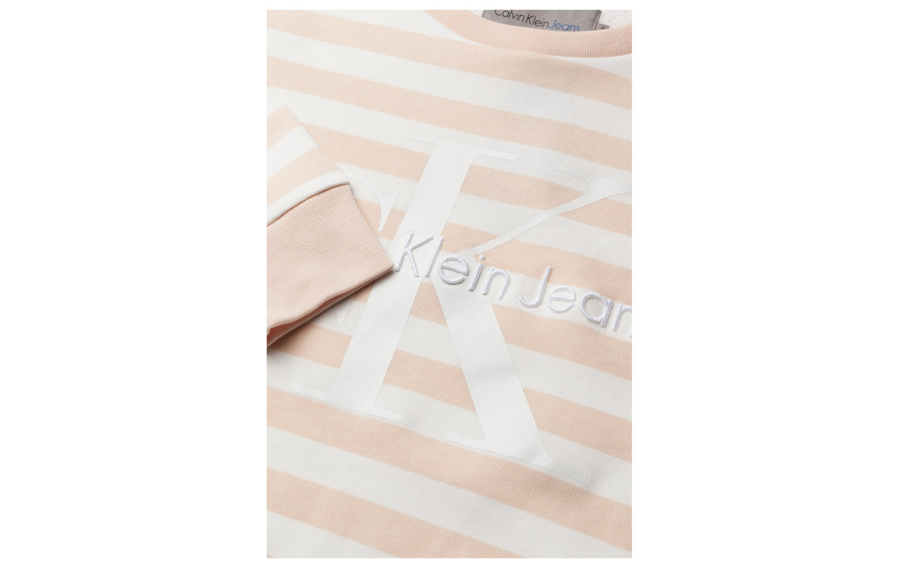 Stripe Hwk Klein Tan Egret True Jeans Calvin Cn Icon s 100 L Cream Coton wp8XdxqB