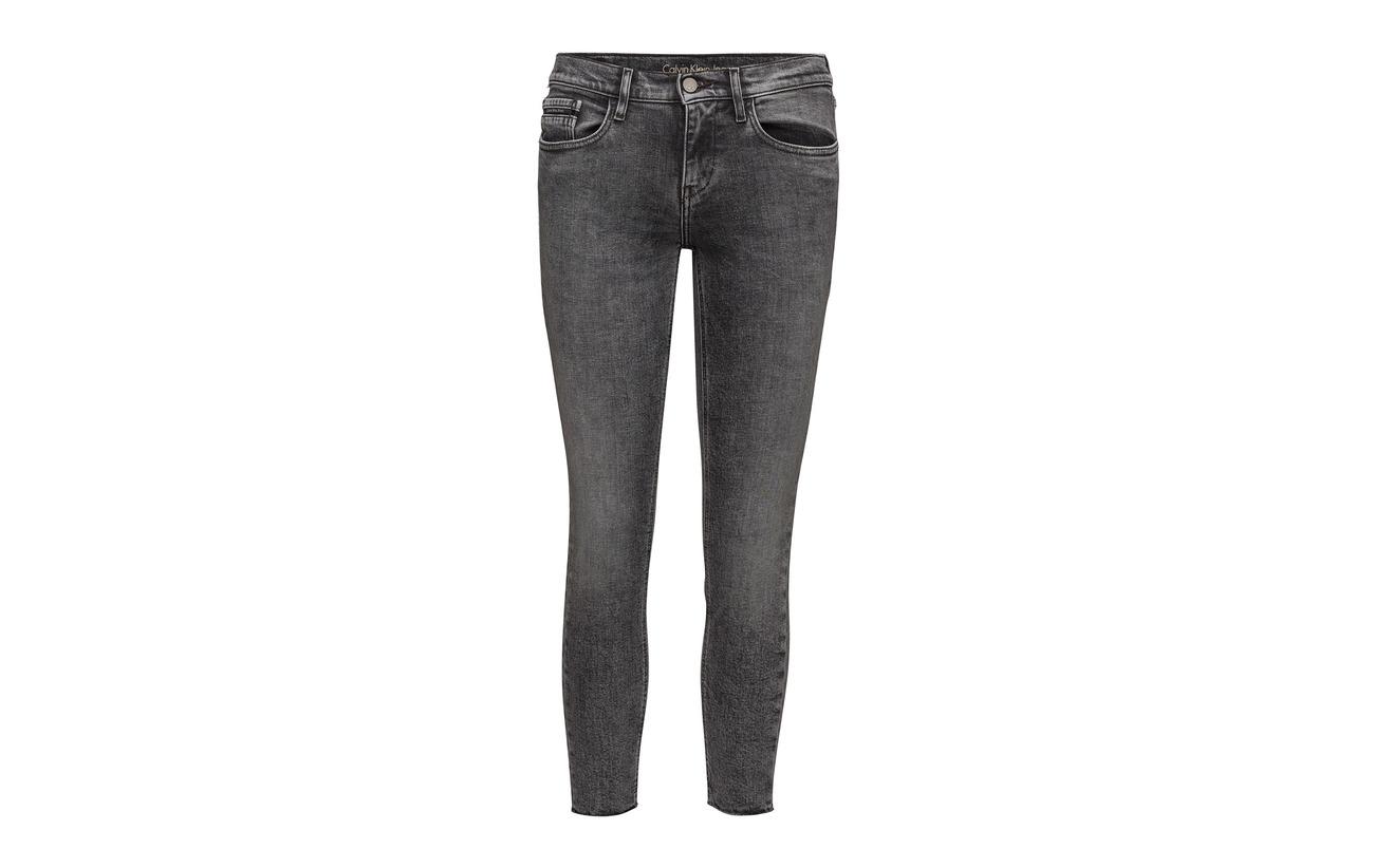 Coton Mr Skinny Klein Jeans Str J Division Elastane Ankle 1 Calvin Black j Raw 98 A7qRxwWwEB