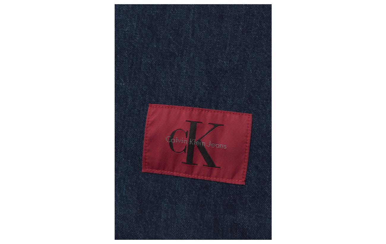ba less Banhof 100 Rgd Jeans Blue Dress S Boxy Coton Calvin Klein wHYqt0