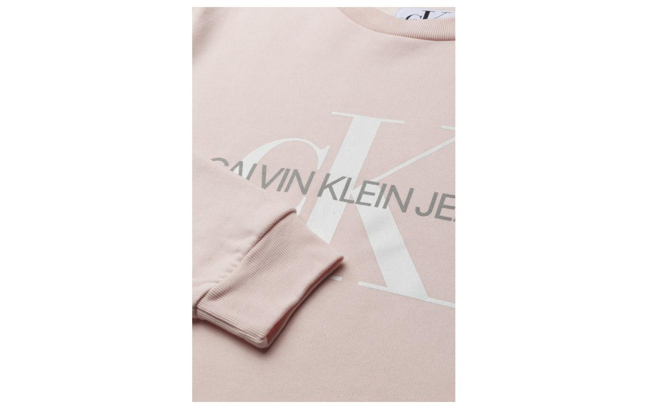 Logo Jeans Coton 100 Sweatshirt Monogram Klein Tannin Calvin tzFqw