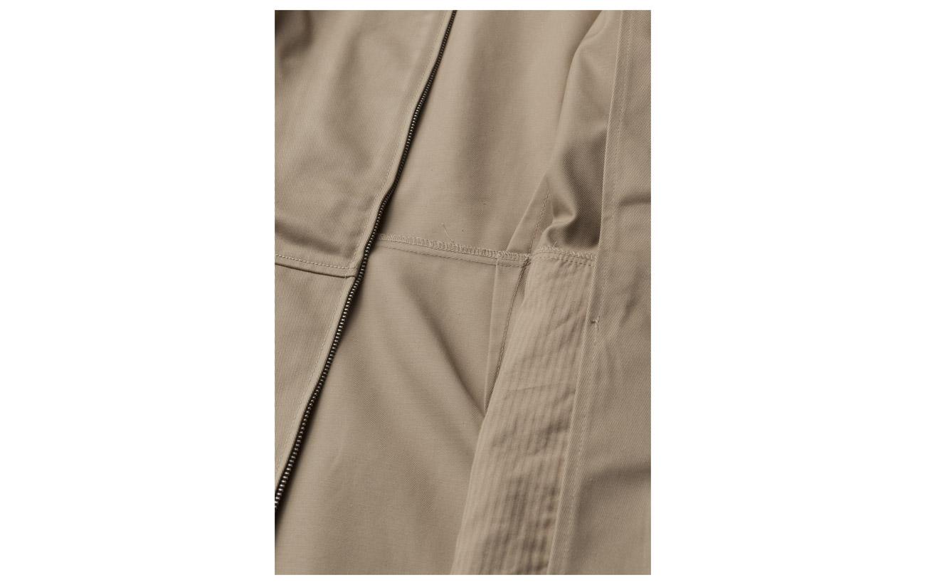 Short Coton Zip Jeans Up Cotton 65 Polyester Sleeve Polyester Travertine Dress Klein Calvin 35 FtqB6