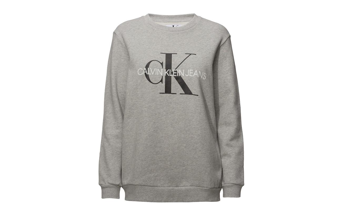 Coton Light 100 Jeans Grey Monogram Heather Klein Core Calvin O078n