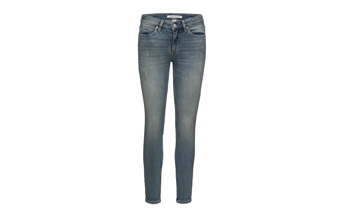 Elastane Mid Sunday Coton Rise 18 Modale Skinny Jeans 011 Calvin Polyester 3 Ckj 78 West Klein Blue Polyester 1 Spq1Uf