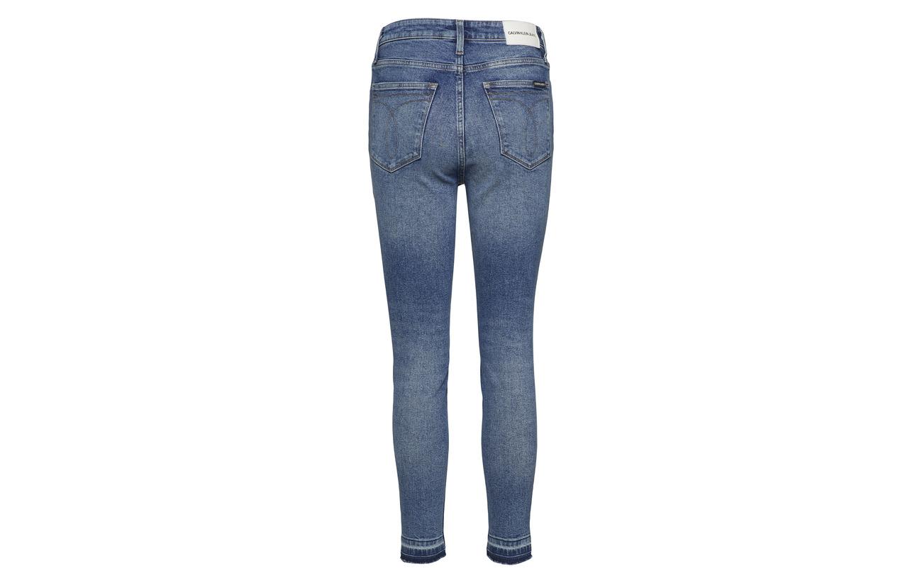 Jeans 1 High Coton Calvin Elastane Blue Albury Klein S 010 99 Rise Ckj Rwq5PI