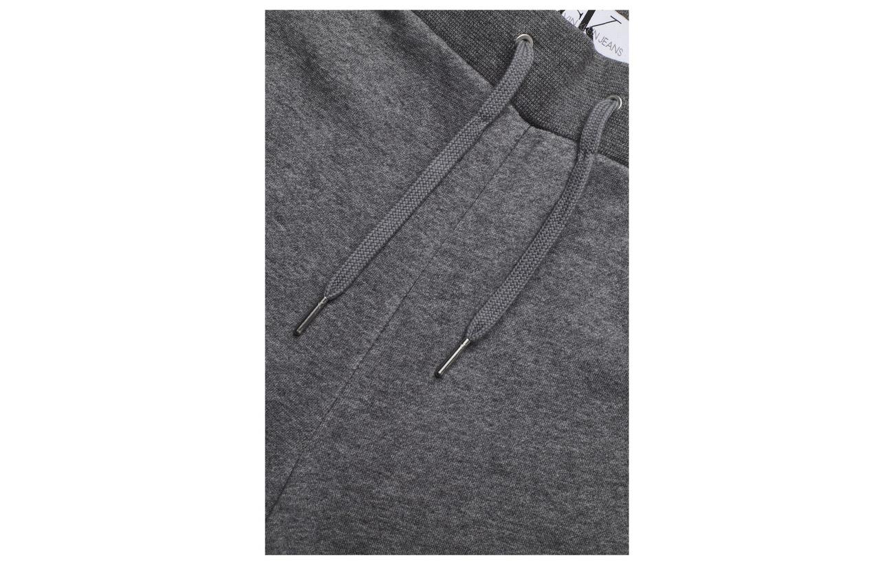 Calvin 63 Klein Monogram Cotto Mid Badge Coton 37 Jeans Polyester Grey Heather qq8Rxr7pw