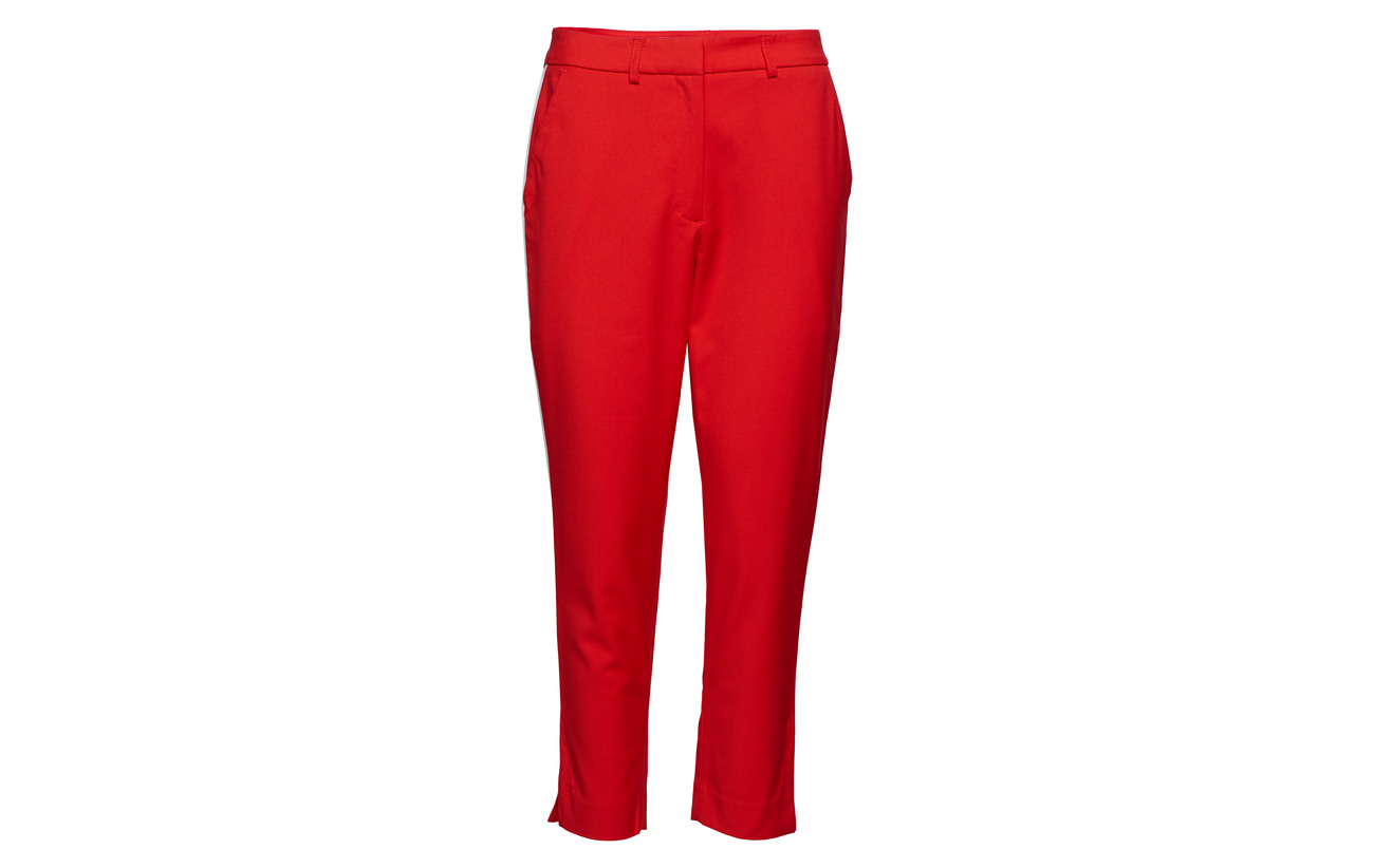 Red Stripe Polyester Viscose 2 Elastane Polyester Racing 70 Jeans Side Calvin Klein Twill 28 Pa gR100n