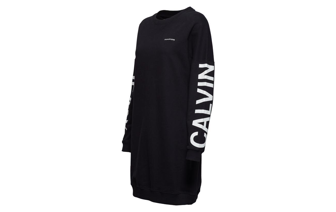 Ck D Logo Coton Institutional Calvin Black 100 Klein Jeans UqS6Xf
