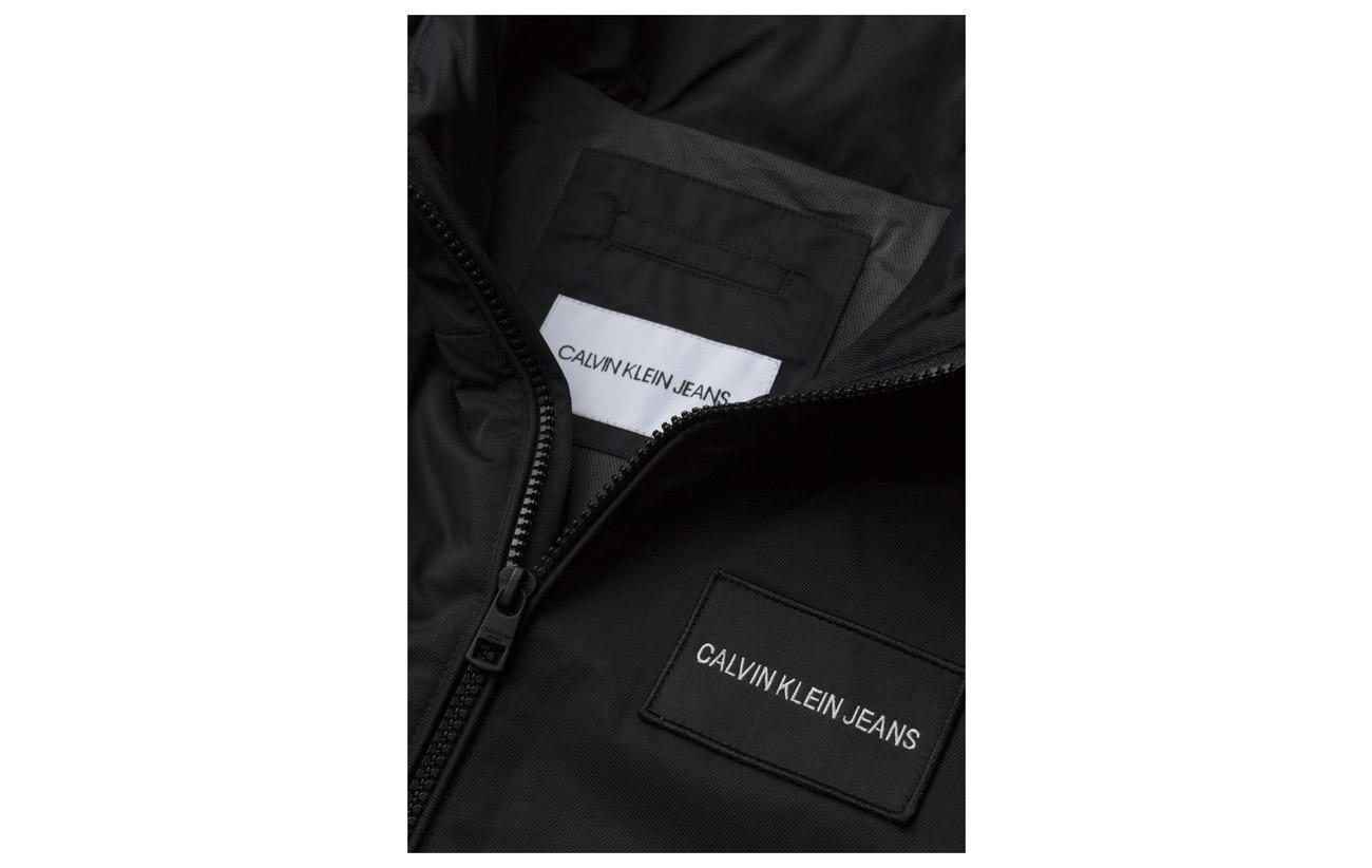 Jacket Technical Depths Calvin Logo Hooded Jeans Klein Blue 4xAZq