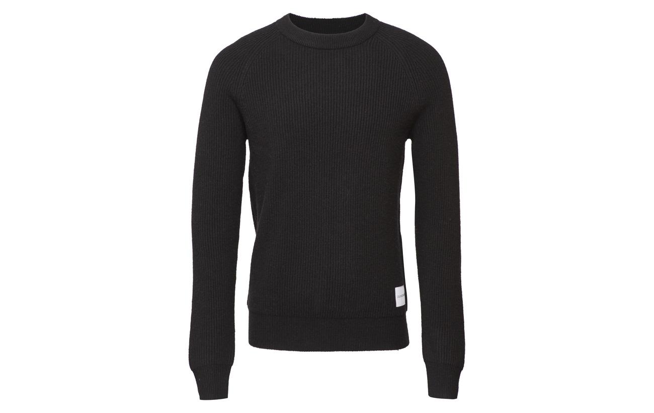 Klein Institutional Black Jeans Calvin Ck S Wool ZxTTdw1